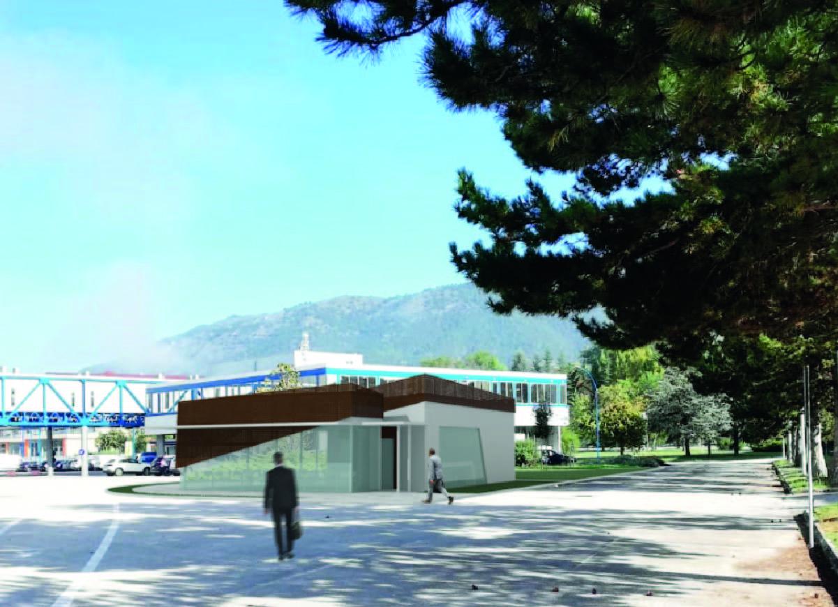 Nuovo bar al Tecnopolo d'Abruzzo